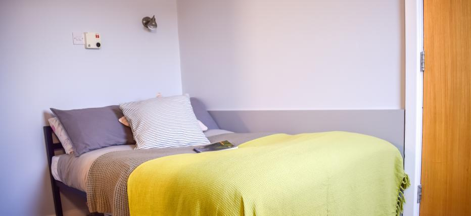 Gold Two Bed Apartment Bedroom