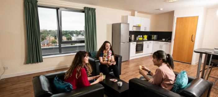 Dorchester House flat