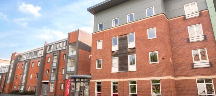 Moor Lane Halls exterior