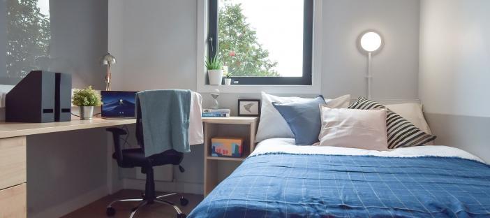 Parker House bedroom