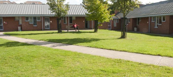 Wolfson Court - External
