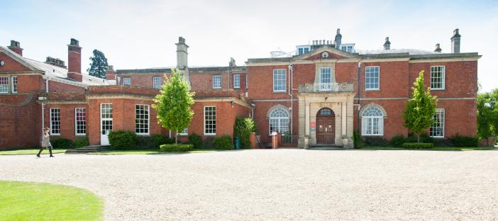 Hartpury House, exterior image, historic manor