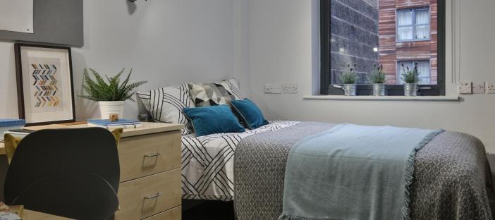 Silver En Suite Bedroom