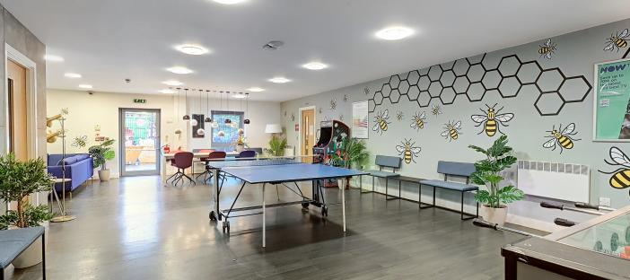 Common Room with table tennis table