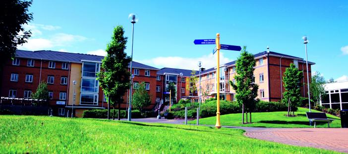 Walsall Student Village building